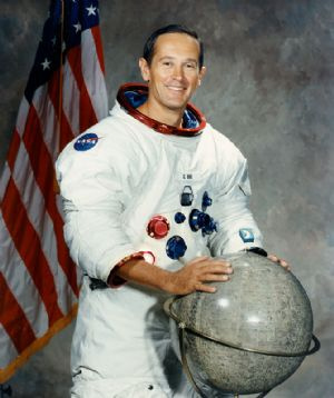 "NASA Astronaut Charles M. Duke 8""x10"" Full Colour Portrait"